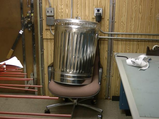Cheap Trash Can EMP Shield