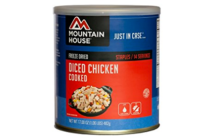 Mountain House Diced Chicken Cans