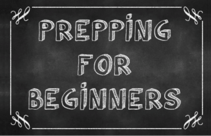 Emergency preparedness checklist prepping for beginners