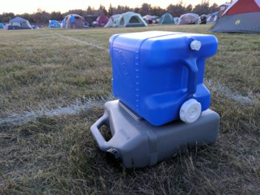 Durability of prepper water containers