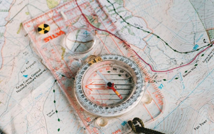 Learn compass map survival navigation