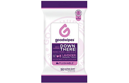 Goodwipes Down There Wipes for Women