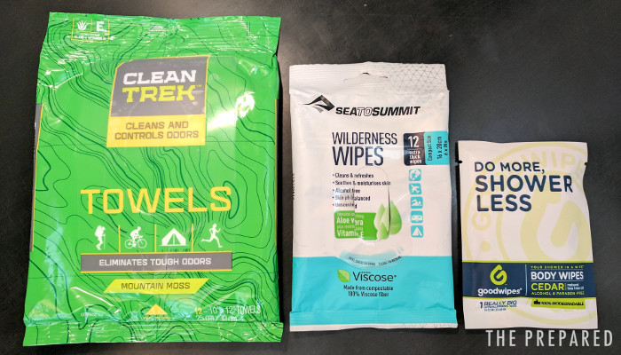 Sea to Summit wilderness wipes review