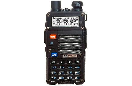 BaoFeng BF-F8HP 8 Watt Dual Band Handheld Ham Radio