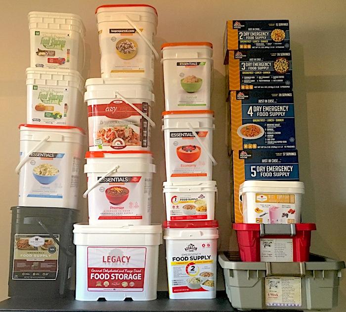 Review best emergency survival food kits