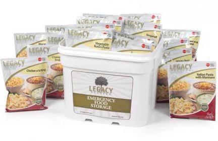 Legacy Foods 120 Serving Bucket