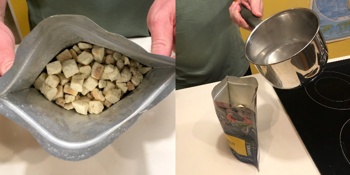 How to cook survival food mountain house