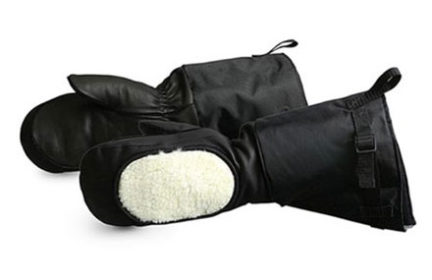 Superior Calfskin Leather Extreme Cold Gloves