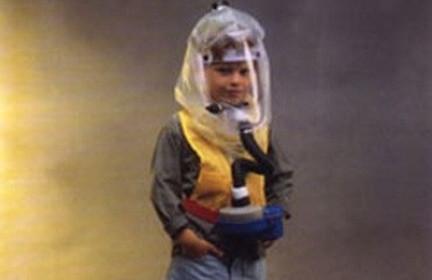 Shalon Bardas Children's Gas Mask Hood