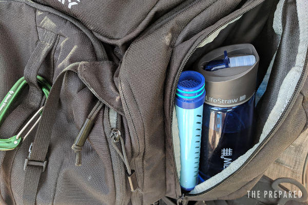 Water filters for bug out bags