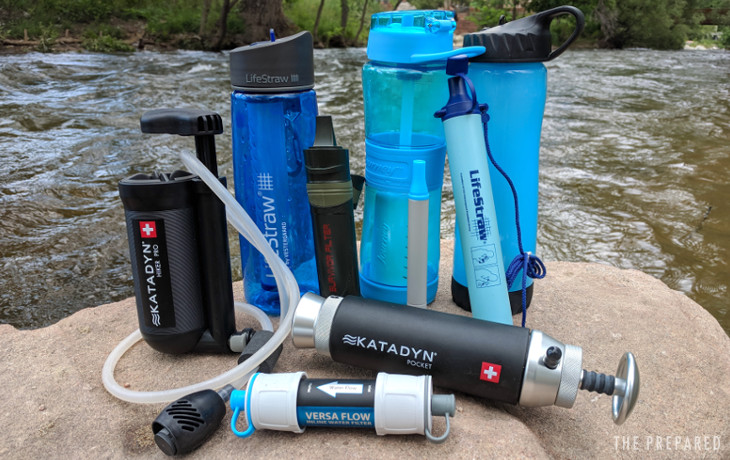 Best Portable Survival Water Filters For Preppers The