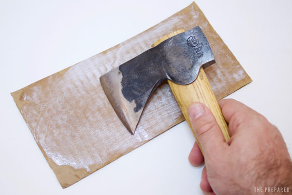 How to sharpen knife after SHTF random materials