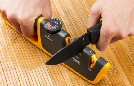 Best pull through knife sharpener