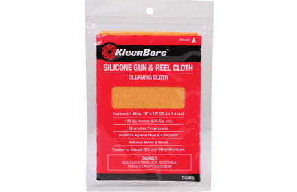 Kleen-Bore Silicone Gun and Reel Cloth