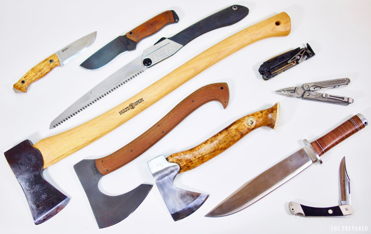 How to Choose and Mix Bladed Tools for Prepping - The Prepared