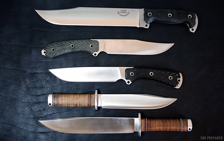 Best Bowie Knife And Large Knives The Prepared