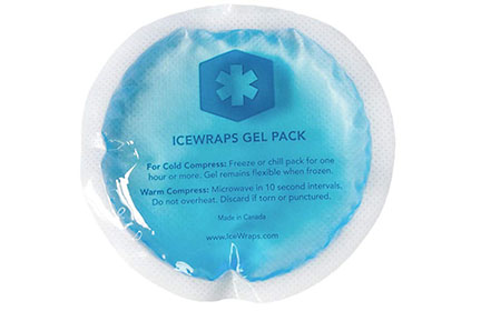 IceWraps Reusable Gel Ice 5-Pack
