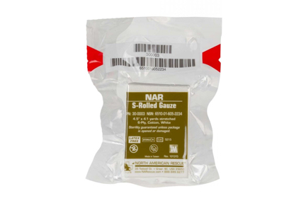 NAR S-Rolled Gauze