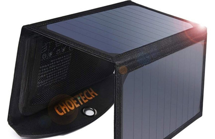 CHOETECH 19W USB Solar Charger