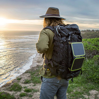 backpack hiking camping solar charger review