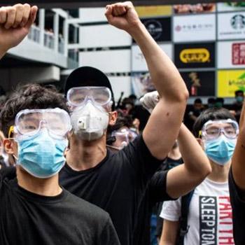 respirator tear gas goggles
