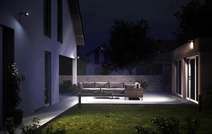 best home security lights solar motion activated