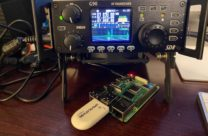 G90 with a bare-board Raspberry Pi and GPS dongle