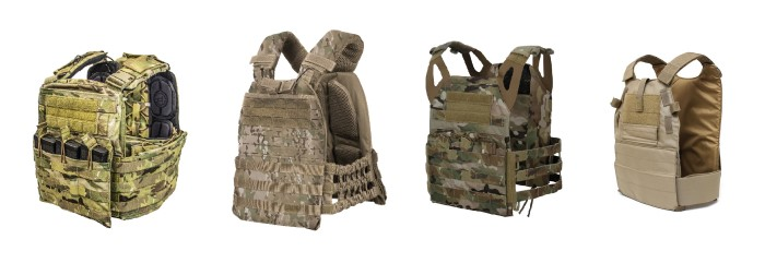 types of tactical armor plate carriers for civilians