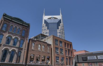 The AT&T building in Nashville
