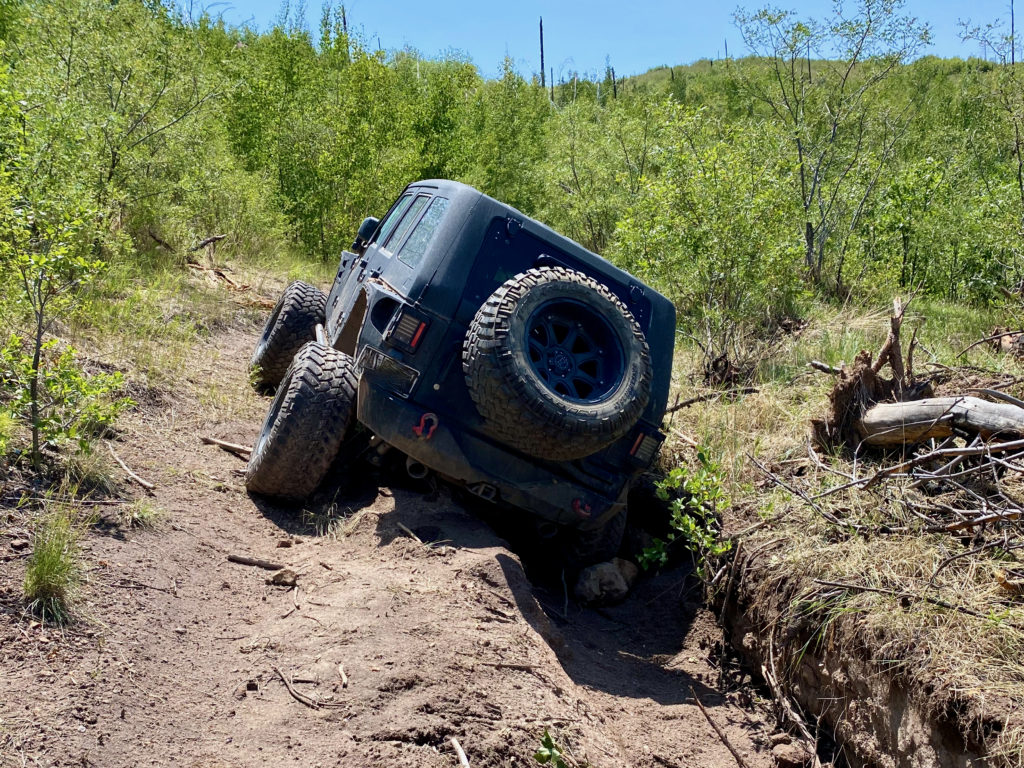 jeep recovery, rear