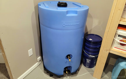 best large water tanks and 55 gallon barrels review for emergency preparedness picture
