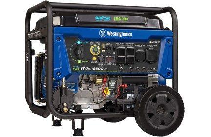 Westinghouse WGen9500DF Dual Fuel Portable Generator