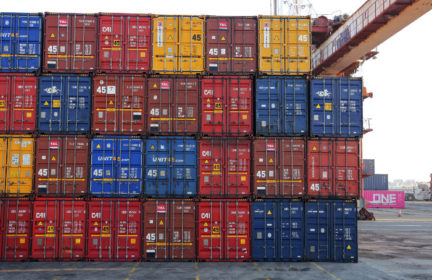 Corporate demand is stressing global supply chains