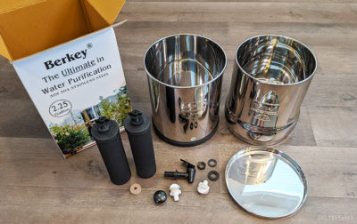 Big Berkey review unboxing picture
