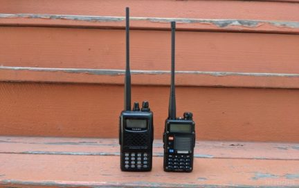 The FT-60R and BF-F8+