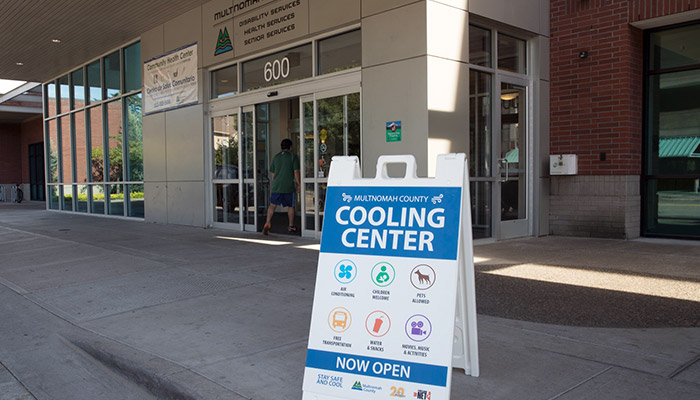 Local government cooling center photo